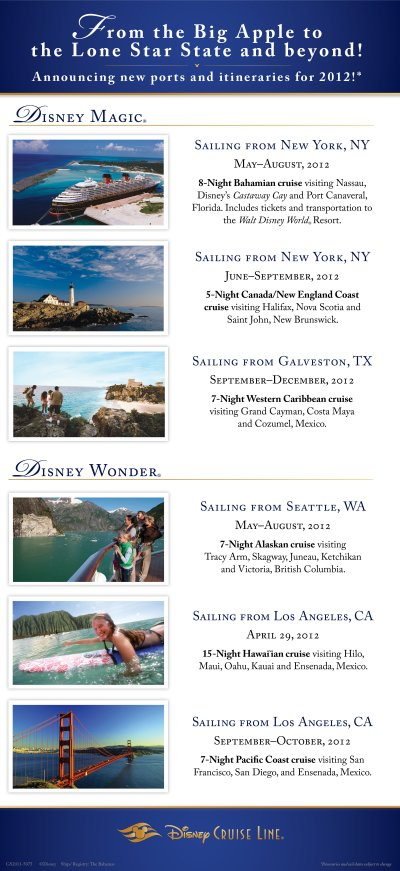 disney cruise from new york galveston seattle wdwvacations