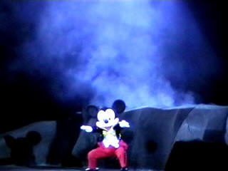 fantasmic mickey show mgm theme park
