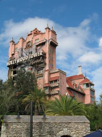 mgm studio tower of teror walt disney world